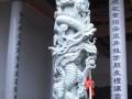 石材雕刻之龙柱系列