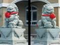 石材狮子雕刻成品