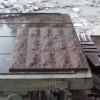 寿宁红石材环境工程装饰用的墙面表面加工工程实例效果