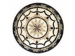 大理石拼花装饰-环球石材经典案例