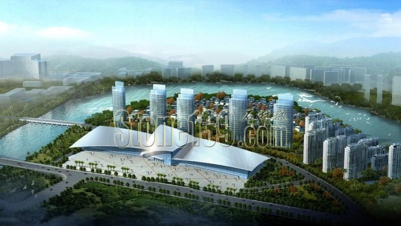 福建(南安)成功国际会展中心(效果图)1