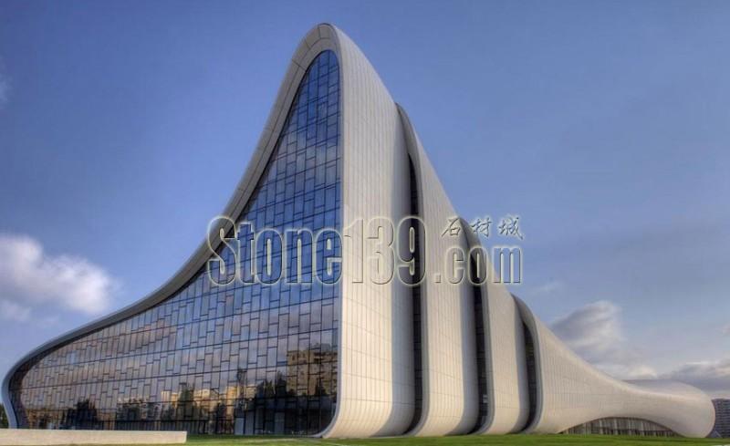 金枫玉石材 以艺术的视角领略建筑美