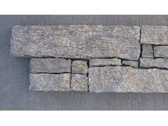 虎皮黄(芝麻黄) 水泥文化石  20x55x3-4.5cm