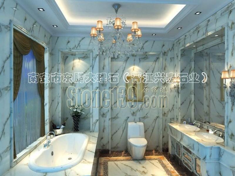室内浴室洗手间大理石精装修图片