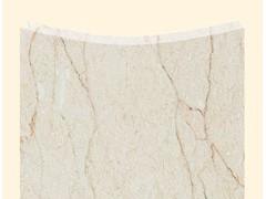 新雅米黄弧形板-- 芸兴石材
