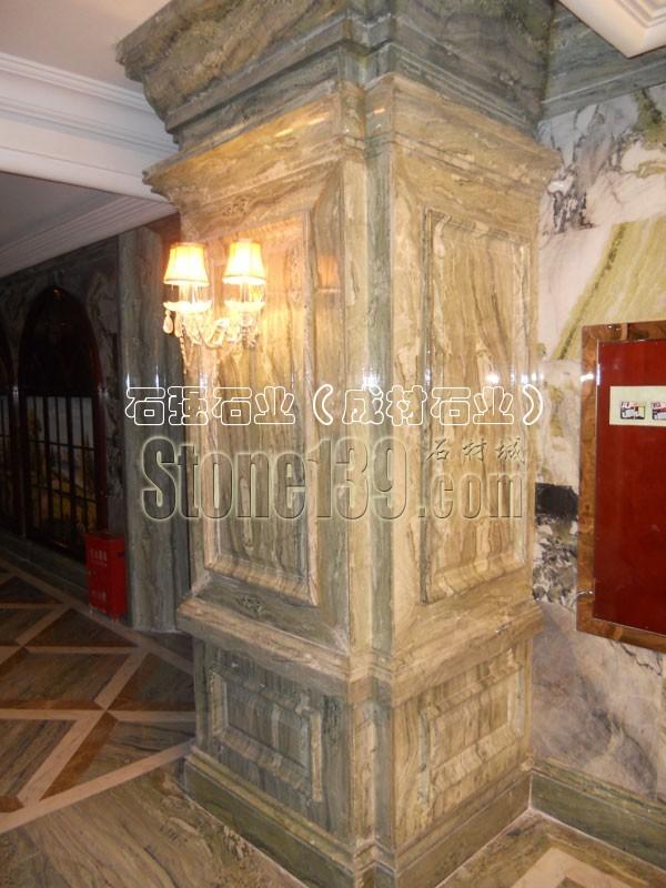 成材大理石线条室内装饰图