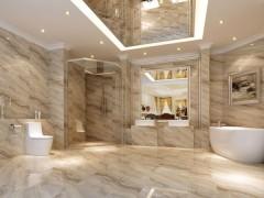 白色微晶石浴室装饰-- 泰宏石业