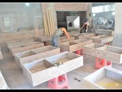 家装庭院石材洗衣池系列批发-- 龙傲石材有限公司