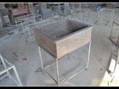 石材洗脸池洗菜池-- 龙傲石材有限公司