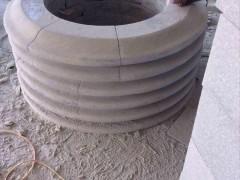 圆形树池石材拼贴-- 南安市石井兴隆石材