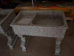 石材洗衣槽带搓衣板的SY-029