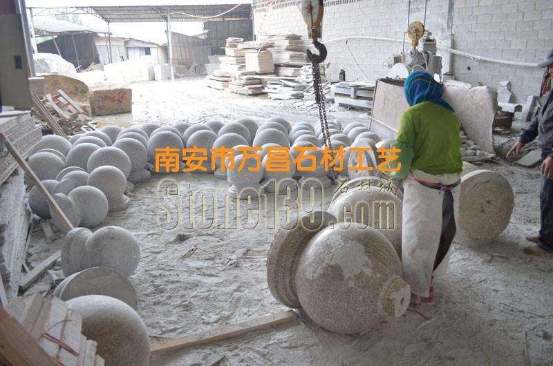 石材荒料加工成圆球