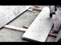 手切机加工石材浮雕效果 (2317播放)