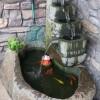 石雕喷泉 自然石喷泉