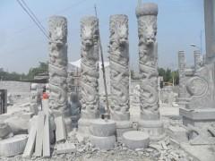 石材柱子 龙雕刻FQ-066-- 山东嘉祥县福群石材加工厂