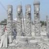 石材柱子 龙雕刻FQ-066