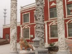 嘉祥县龙柱雕刻厂家供应各种年龙柱浮雕-- 山东嘉祥县福群石材加工厂