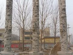 石柱浮雕 龙图腾-- 山东嘉祥县福群石材加工厂