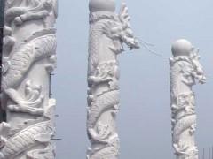 龙柱(龙须)石雕-- 山东嘉祥县福群石材加工厂