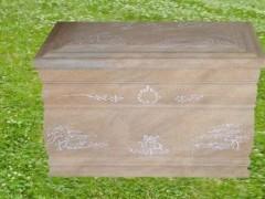 砂岩石棺-- 山东嘉祥县福群石材加工厂