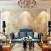 客厅瓷砖背景墙芙洛拉 电视背景墙 个性化背景墙定制