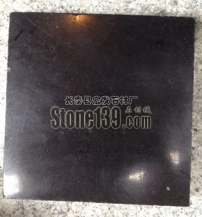 宏发石材芝麻黑染黑板