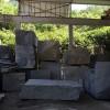 654墓碑石荒料