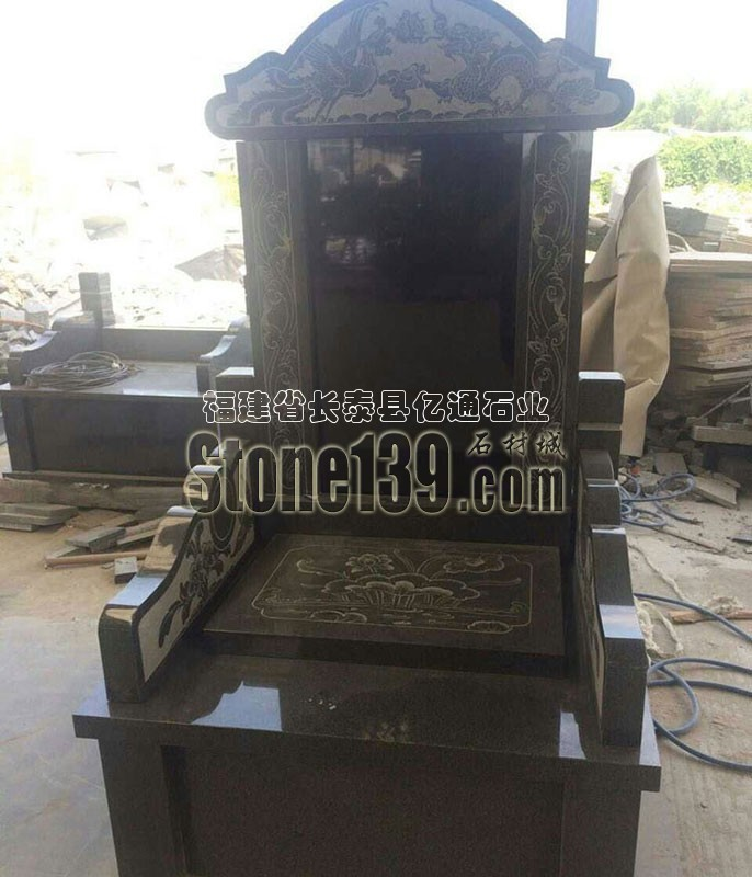 漳州芝麻黑墓碑石生产厂家 墓碑石产品