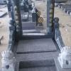 654墓碑石 墓碑雕刻系列产品 金字