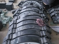 黑色墓碑石雕刻系列成品-- 福建省长泰县亿通石业