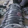 黑色墓碑石雕刻系列成品