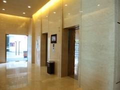 电梯口门套 前面 地板大理石装饰应用
