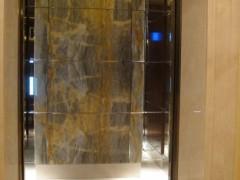 大理石电梯门套 电梯内背景墙装饰