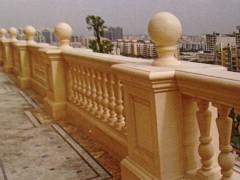 别墅楼顶 院子 阳台 护栏栏杆石材供应