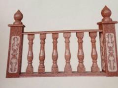 印度红栏杆护栏