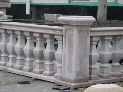 花岗岩护栏 阳台栏杆石材配套成品供应