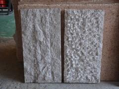沙漠棕石材菠萝面自然面样品-- 福鼎伟业石材(水头直销处)