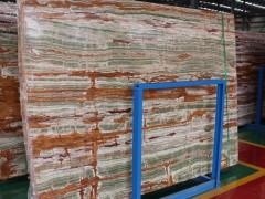 成都青白江区建工石材产业园大理石大板图片