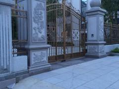 别墅大门石柱 围墙转角柱子 花岗岩石材柱子-- 南安市石井建兴石制品工艺厂