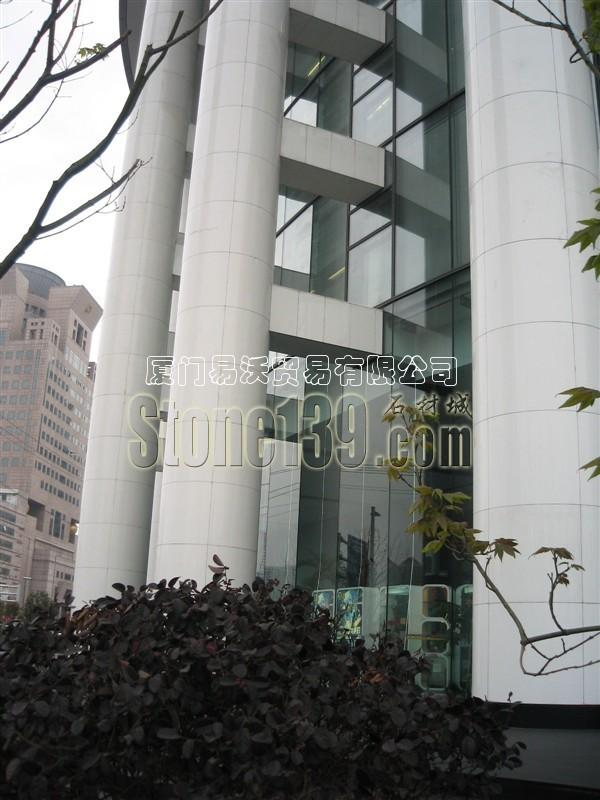 微晶石圆柱装饰建筑物应用图集图片