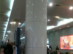 白色微晶石柱子 火车站 机场装饰-- 厦门易沃贸易有限公司