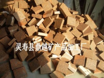 贵妃红石材荔枝面 兴县红外墙干挂 高粱红光面压顶石