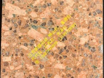 光泽红花岗岩样品