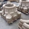 花岗岩罗马柱头 两拼 湖北随州罗马柱厂家供应