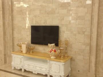 水头电视背景墙石材装修