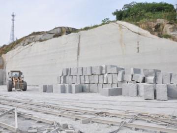 湖南芝麻灰花岗岩矿山图