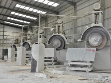 玉豪石材工厂生产机台设备图