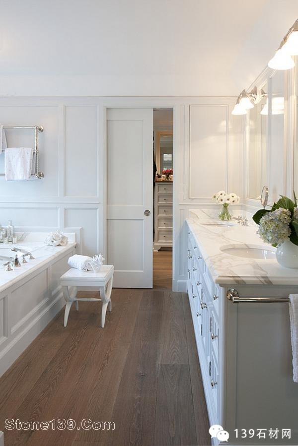 别具艺术的白色石材装饰魅力别墅