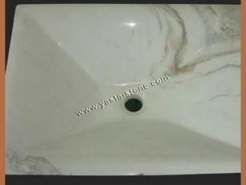 大理石脸盆洗手盆-- 雅斯塔石材有限公司