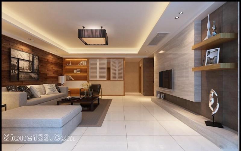 Living Room Wall Design